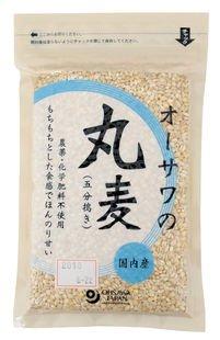 オーサワの丸麦(五分搗き) 300g×3個           JAN:4932828022109