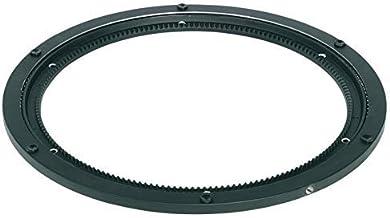 GedoTec® professioneel draaigras, 360 graden kogelgelagerd, draaibaar voor schroeven, zwart kunststof, drukkogellager, dra...