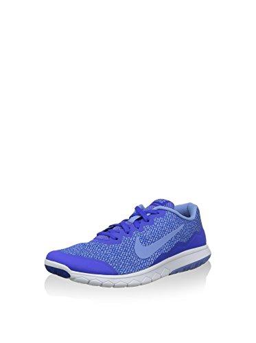 Nike Wmns Flex Experience RN 4 Prem, Zapatillas de Running Mujer, Azul (Racer Blue/Chalk Blue-White), 36