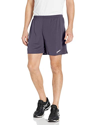ASICS Men's Rival Ii Shorts, Steel Grey, Medium