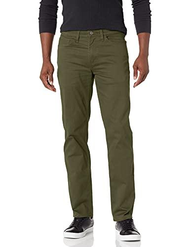 Dockers mens Straight Fit Jean Cut All Seasons Tech Pants,Deep Depths - Green,34W x 30L