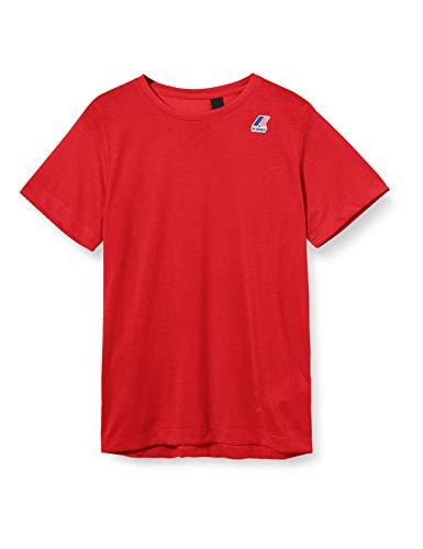 K-Way Edouard T-Shirt, Rosso (Red K08), X-Small (Taglia Unica: XS) Uomo