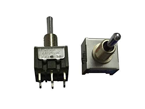 Japan NKK M-2028 - Interruptor de botón en miniatura 6PIN3 con cabezal de agitación, doble auto-reinicio