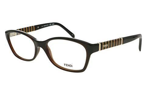 FENDI 1047 209 RX gafas, gafas, gafas, marcos y funda 52 mm
