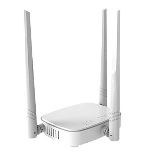 MHOLR WiFi-Router 300Mbps-Wireless WiFi Repeater, Firmware Mehrsprachiger, Router/WISP/Repeater/AP-Modus, 1WAN + 3LAN RJ45-Port, Für Zu Hause/Spiele