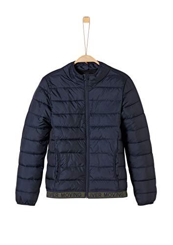 s.Oliver Junior Jungen 75.899.51.1014 Jacke, Blau (Dark Blue 5952), 164 (Herstellergröße: L)