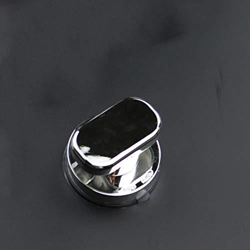 MTGYF Punch-Free Griff Glasfenster Kunststoffgriff Kühlschrank arbeitssparender Griff kleine runde Schranktür Kleiderschrankgriff Schiebetür Vakuumsauger Griff