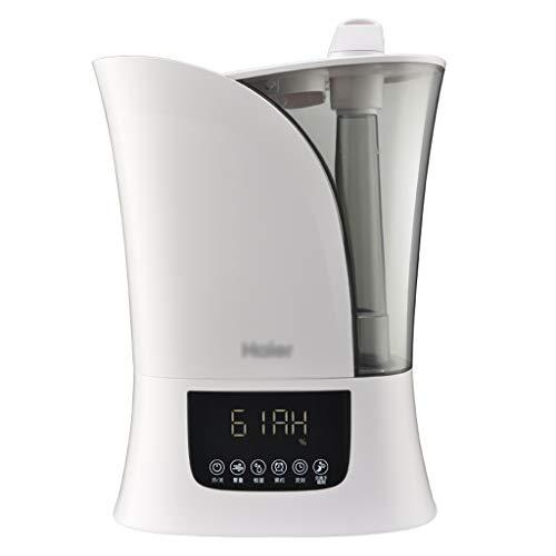 Haozai luchtbevochtiger 4,5 l, luchtbevochtiger Aroma Diffuser, tot 40 m2, 24 uur werktijd, 3 mistinstellingen, timer, automatische uitschakeling luchtbevochtiger 300 ml/H 2020