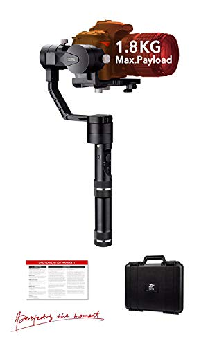 ZHIYUN Crane V2, 3-Axis Gimbal Stabilizer for Mirrorless Camera and DSLR for Sony A7 Panasonic LUMIX Nikon J Canon M