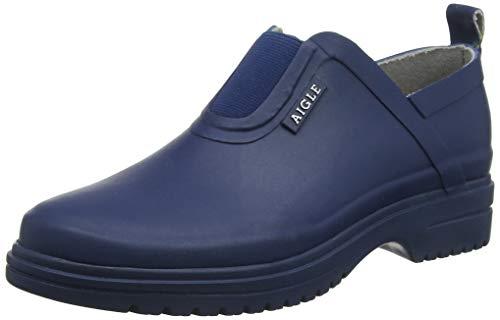 Aigle Damen Egoa Sabotin Clogs, Blau (Marine 001), 38 EU