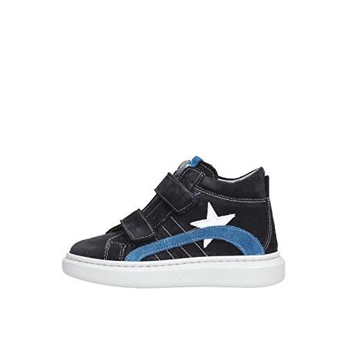 Nero Giardini Scarpe da Bambino Sneakers camoscio Blu A923710M-200
