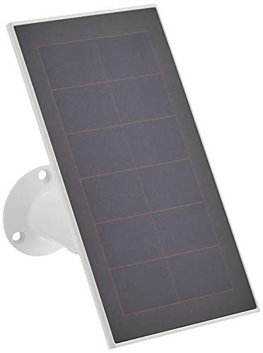 Arlo Certified Accessory - Essential Solar Panel Charger - Weather Resistant, 8 ft Power Cable, Adjustable Mount, Only Compatible with Arlo Essential Cameras, White - VMA3600