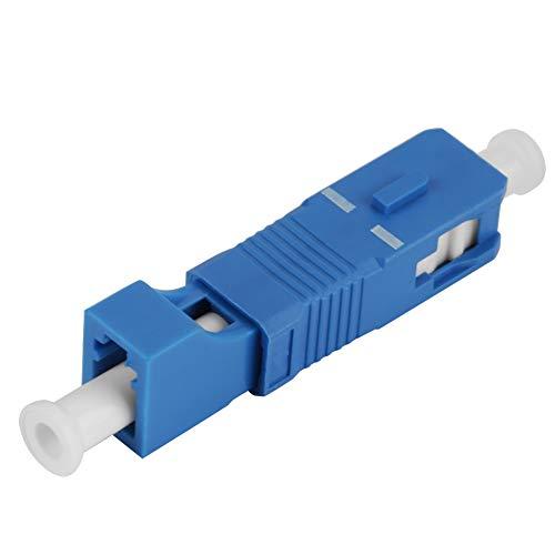 SC Stecker zu LC Buchse, optischer Hybrid Adapter für optische Konverter MEHRWEG VERPACKUNG socialme-eu