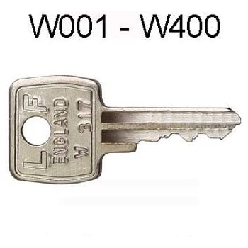 Replacement RONIS LAS Filing cabinet//Locker//Desk Key cut to codes FM001 TO FM400