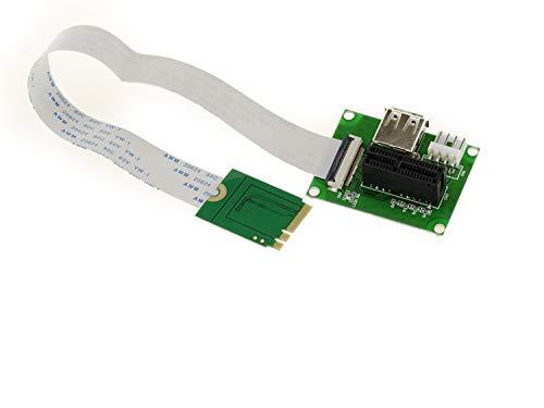 KALEA-INFORMATIQUE © - PCI-E 1x CARD to NGFF M.2 PCIe SLOT ADAPTADOR...