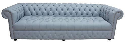 JVmoebel XXL Big Sofa Couch Chesterfield 480cm Polster Sofas 4 Sitzer Leder Textil #215