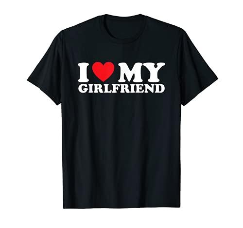 I Love My Girlfriend I Heart My Girlfriend T-Sh
