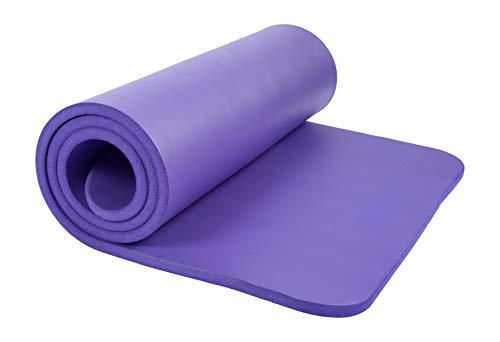 Kounga Mat Pro 15 Esterilla de Pilates, Unisex Adulto, Purple, One Size