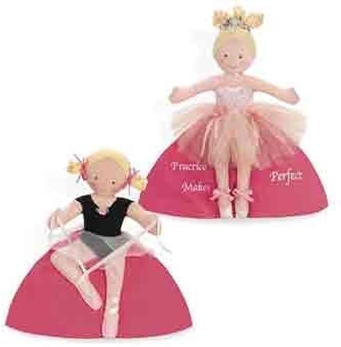 hautsy Turvy Doll Ballerina Blonde by North American Bear