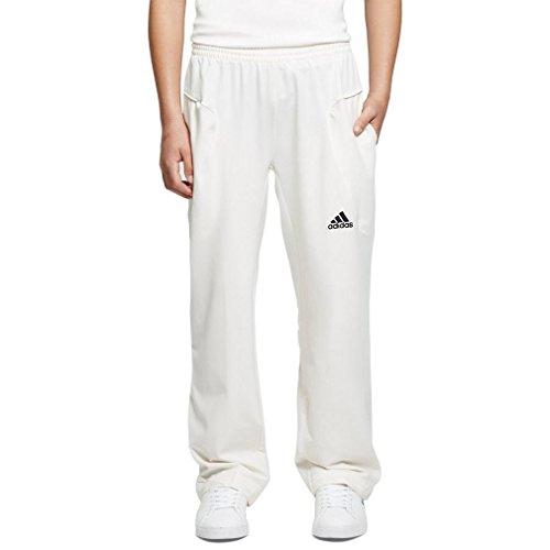 adidas Herren Cricket Hose - Weiß, 28