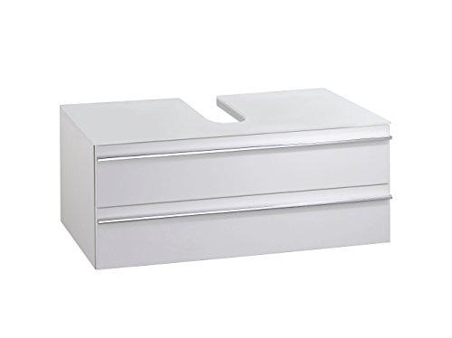 Waschbeckenunterschrank Griffe aus Kunststoff