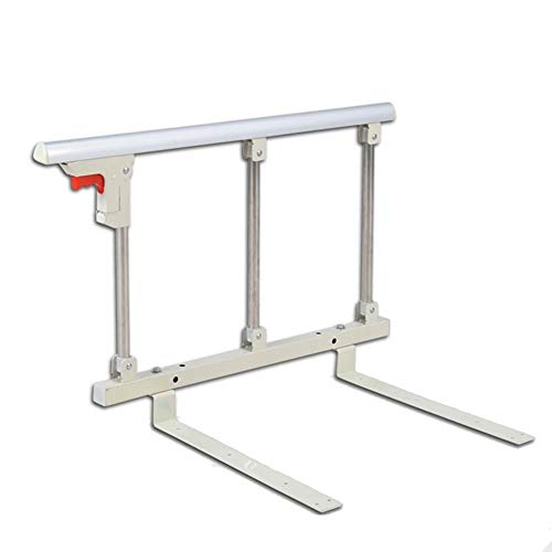 Wyyggnb Bed rail Foldable Bed Rail Safety Side Guard For Elderly, Adults Assist Handle Handicap Bed Railing Hospital Metal Grip Bumper (Size : 70x40cm)