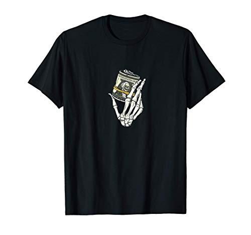 Dinero Calavera Camiseta