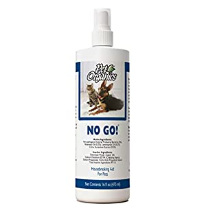 NaturVet – Pet Organics No Go Spray – 16 oz – Housebreaking Aid For Dogs & Cats – Removes Urine Scent From Surfaces to Eliminate Re-Urination