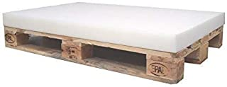 KiNDERWELT 1 x skumdyna skumdyna skum för euro-pall 120 x 80 x 8 cm utan pall