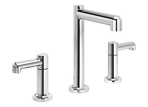 Symmons SLW-5312-1.0 Museo Widespread 2-Handle Bathroom Faucet with Drain Assembly in Polished Chrome (1.0 GPM)