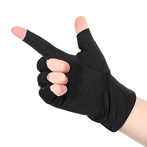 LIZHE 1 par Artritis de compresión Guantes Soporte de muñeca Transpirable algodón articulación Dolor de Alivio Mano Abraza de Mano Mujer Pulsera (Color : 1)
