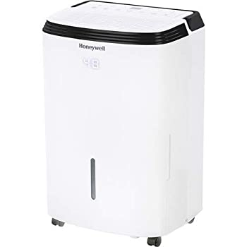 Honeywell Basement & Small Room Up to 1000 Sq Ft TP30AWKN Smart Wi-Fi Energy Star Dehumidifier 30 Pint White