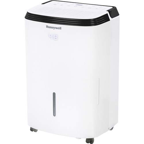 Honeywell Basement & Small Room Up to 1000 Sq. Ft, TP30AWKN Smart Wi-Fi Energy Star Dehumidifier, 30 Pint, White