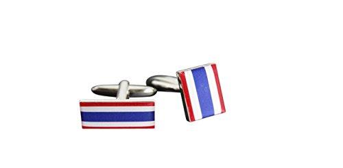 Flaggenfritze® Manschettenknöpfe Fahne/Flagge Thailand
