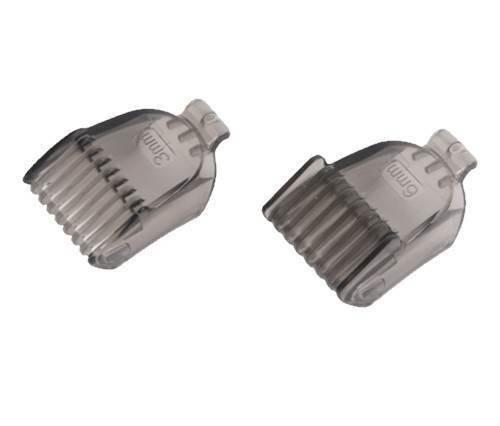 Rowenta Peines de 3 mm de grosor y 6 mm de grosor, para afeitadora Nomad TN3600, TN3620, TN3650