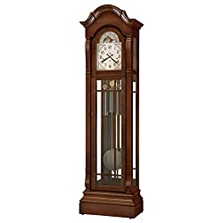 Howard Miller Roderick IV Floor Clock, Cherry Bordeaux