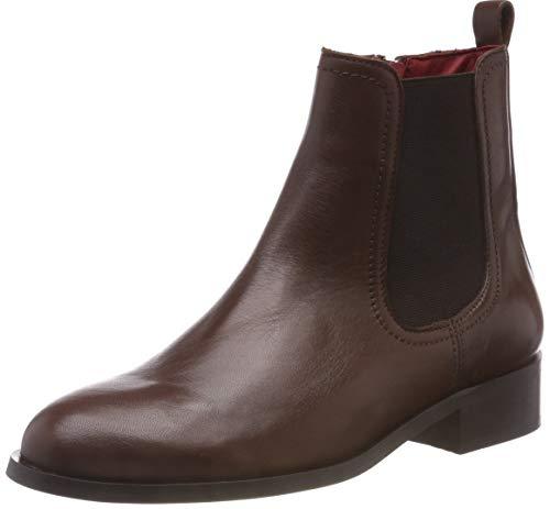 Buffalo Damen Almond Sauvage Leather Chelsea Boots, Braun (Cognac 01 00), 39 EU