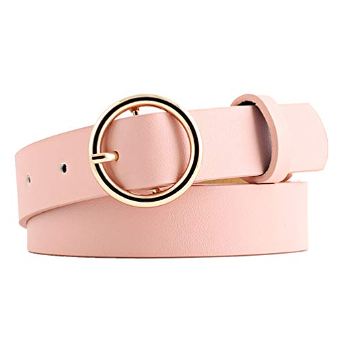 NUREINSS - Cinturón - para mujer Rosa Talla única