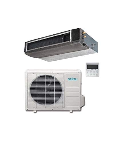 Daitsu S0422582 Aire Acondicionado por Conductos, Acd30Kidb, Inverter A++/A+, R32, 7300 Fg/H