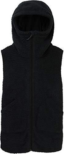 Burton Damen Weste Minxy, Camel Heather, L, Damen, Women's Minxy Vest, True Black Sherpa, Medium