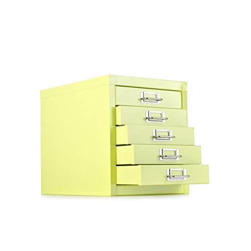LCSHAN Gabinete de Archivo de Escritorio Todo Gabinete de Almacenamiento de Acero Gabinete Archivador de Archivo Actividad Multicapa Gabinete bajo y pequeño