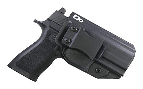 FDO Industries -Formerly Fierce Defender- IWB Kydex Holster Sig P320 XCarry -The Winter Warrior Series -Made in USA- (Black)
