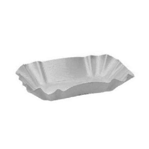 Gastro-Bedarf-Gutheil 250 Pappschalen weiß 9 x 14 x 3 cm KU 51 Beschichtung