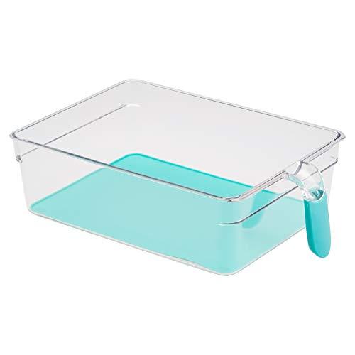Amazon Basics – Kühlschrank-Behälter mit Griff, extra groß, 2 Stück