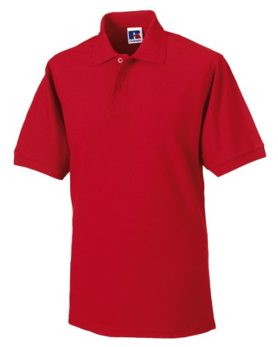 Russels Workwear - Polo - - Polo - Col polo - Manches courtes Homme - Rouge - Classic Red - Xx-large