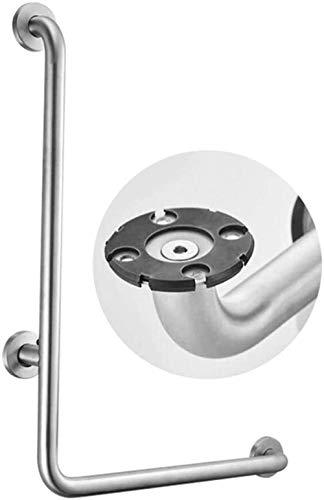 LIUYULONG Badegriff Griff L-förmige Haltegriff, Sicherheit Badezimmer Handlauf Badewanne Anti-Rutsch-Winkelgriffe Dusche Toilette ältere Behinderte Stützgriff Handtuchwärmer Hilfswerkzeuge