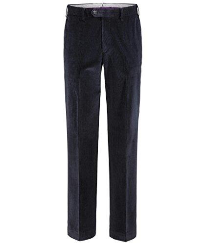 Hiltl Herren Straight Leg Hose Parma, Blau (Nachtblau 41), 25 (Herstellergröße: 46C)