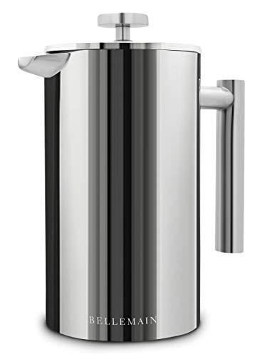 Bellemain Kaffeebereiter für französische Presse, extra Filter, 100 ml, Edelstahl