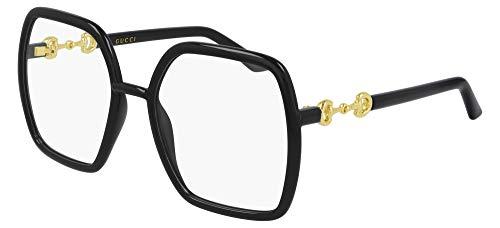 Gucci Gafas de Vista GG0890O Black 55/19/140 mujer