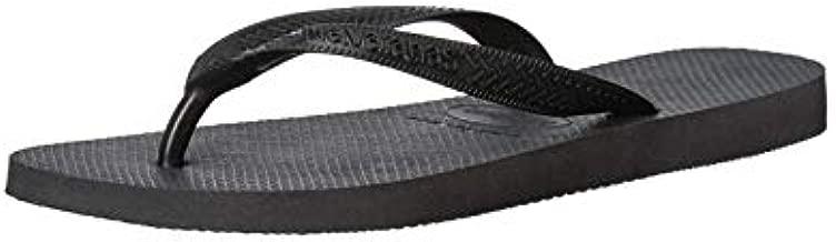 Havaianas Men's Top Flip Flop Sandal, Black, 9-10